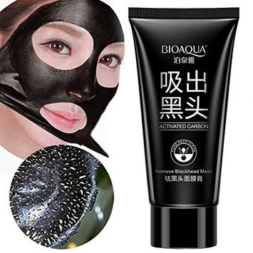 BIOAQUA Activated Carbon Blackhead Remove Mask 60g Super Strong Absorbtion