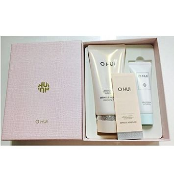 Ohui Miracle Moisture Special Set ( Cleansing Foam + Soft Feeling )