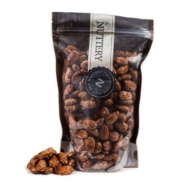 The Nuttery Freshly Roasted and Sweetly Glazed Almonds - 16 ounce Pouch Bag (1lb)