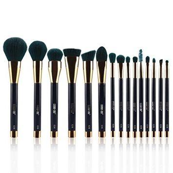 Professional Makeup Brush Set, 15Pcs Foundation Blending Blush Eye Face Liquid Powder Cream Cosmetics Brushes