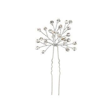 Meharbour New Wedding Bridal Imitation Diamond Hair Pins U Shape Clips Hair Accessories