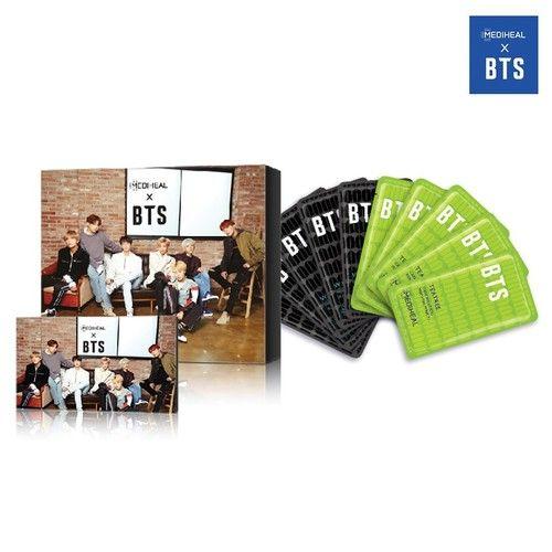 Mediheal X BTS Facial Mask Sheet Special Set/Mask Sheet + BTS Photocard