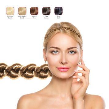 Hollywood Hair Thick Braid Headband - Light Golden Blonde
