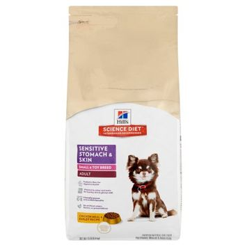 Hill's Science Diet Adult Sensitive Stomach & Skin Small & Toy Breed Dry Dog Food