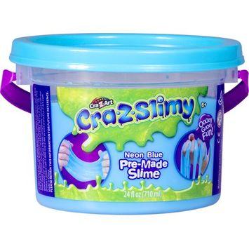 Premade Slime Bucket 24 OZ. - Blue
