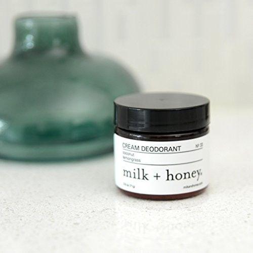 milk + honey Cream Deodorant (Coconut & Lemongrass)