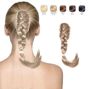 Hollywood Hair French Plat Hair Piece - Platinum Blonde