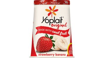 Yoplait® Original Gluten Free Yogurt Single Serve Cup Strawberry Banana 6 oz