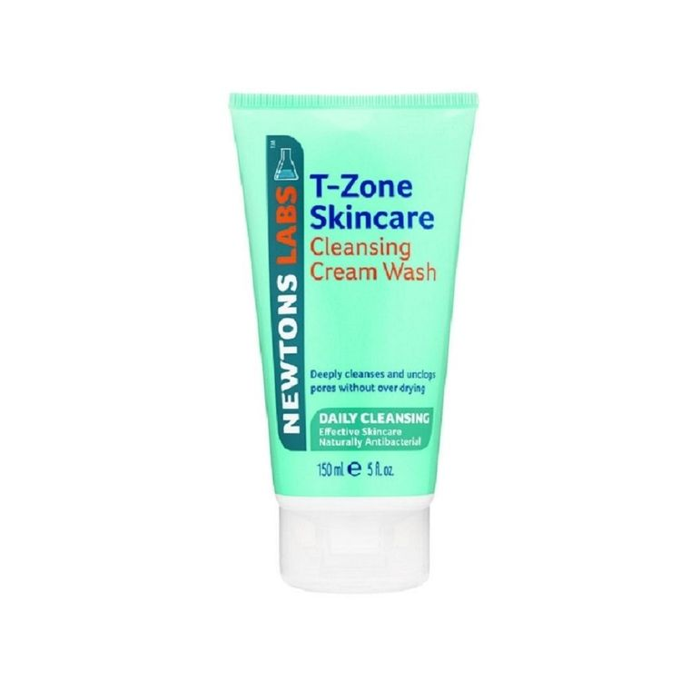 T-zone Deep Pore Cleansing Cream Wash 150ml With Tea Tree Face