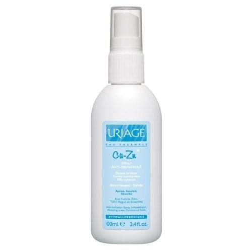 Uriage Cu Zn Anti Irritation Spray for Infants and Babies 100 Ml Spray