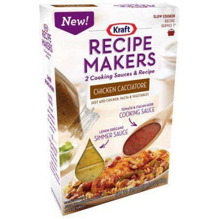 Kraft Recipe Makers Chicken Cacciatore, 16.9 oz