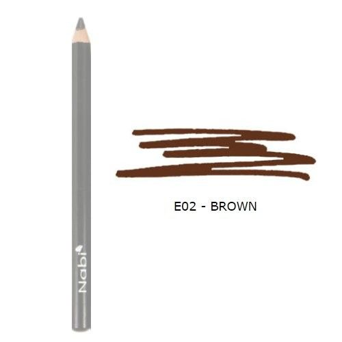 (6 Pack) Nabi Cosmetics Eye Pencil - Brown : Beauty