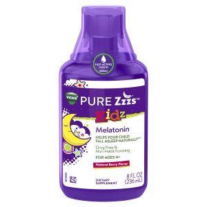 ZzzQuil™ PURE Zzzs™ Kidz Liquid Melatonin