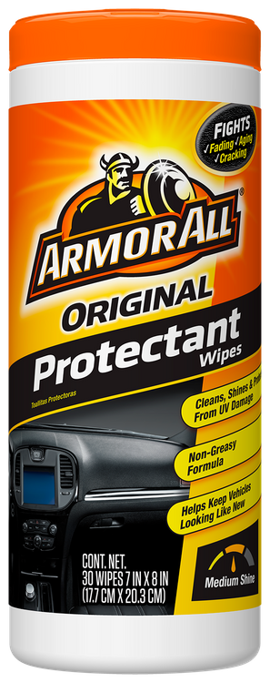 Armor All Original Formula Car Protectant Wipes (30 Count)