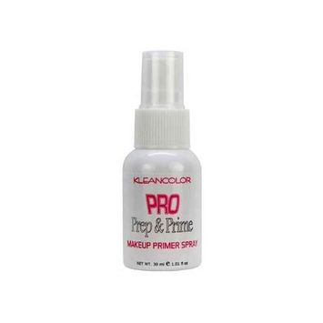 (3 Pack) KLEANCOLOR Pro Prep and Prime Makeup Primer Spray : Beauty