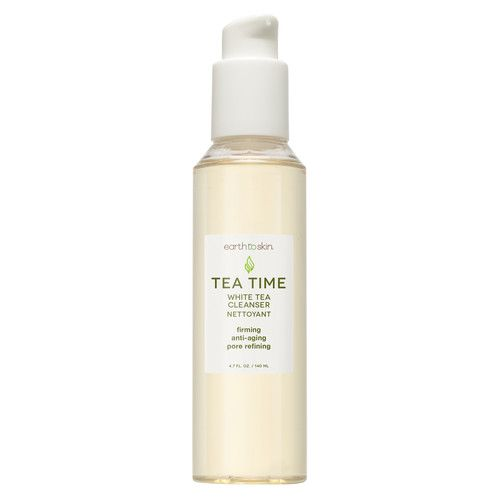 Earth to Skin Tea Time Anti Aging Face Cleanser, 4.74 oz