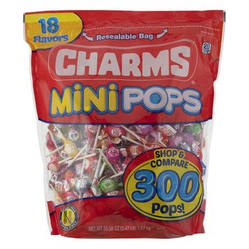 Charms Mini Pops, 55.58 OZ