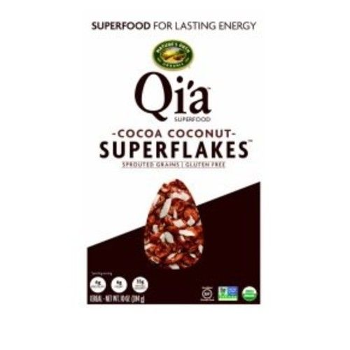 Oi'a Nature's Path Organic Cocoa Coconut Superflakes Cereal 10oz, pack of 1