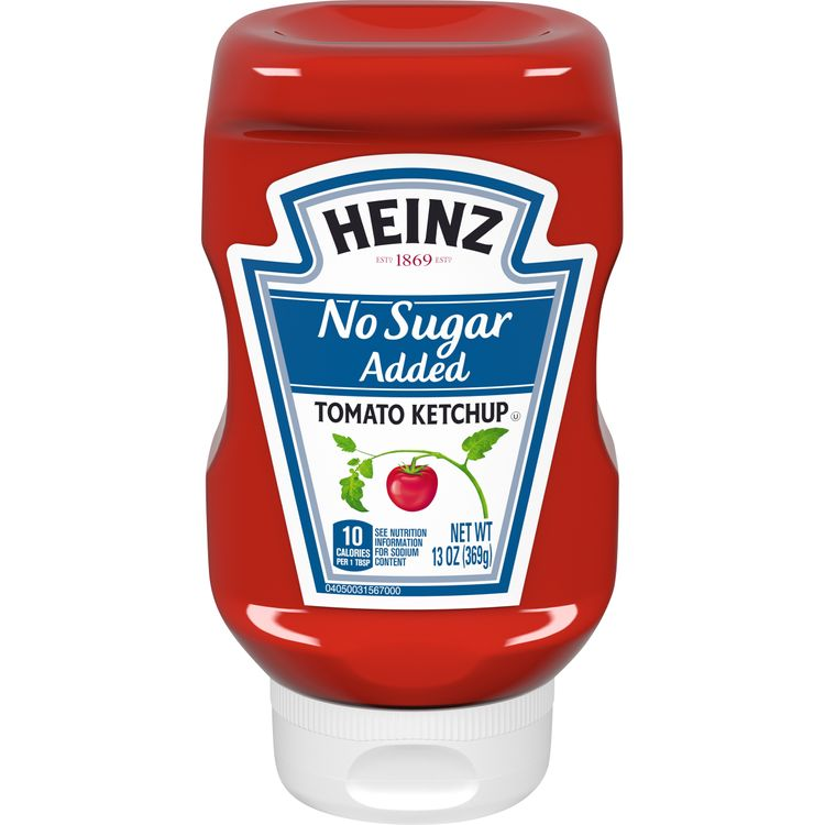 Heinz No Sugar Added Tomato Ketchup