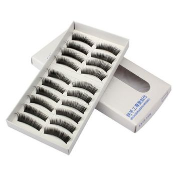 Yphone Model Looks Synthetic Eye Lashes False Eyelashes Volume -10 Pack