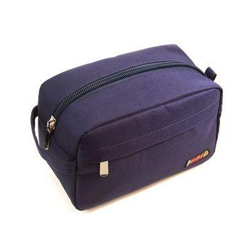 RevoSnap Time Traveler, Toiletry Bag for Men, Travel Shaving Kit, Dopp Kit, Mens Toiletry Bag, Four Compartments