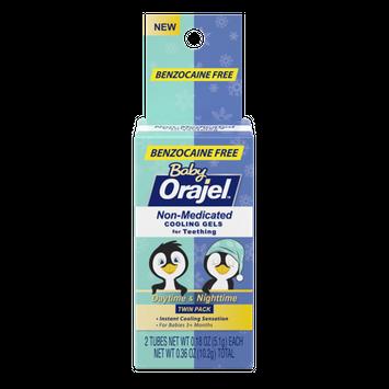 Orajel Baby Non-medicated Gels Day time&Night time Teething