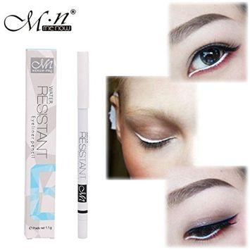 White Eyeliner Pencil Waterproof Long Lasting Eye Brighten by DMZ