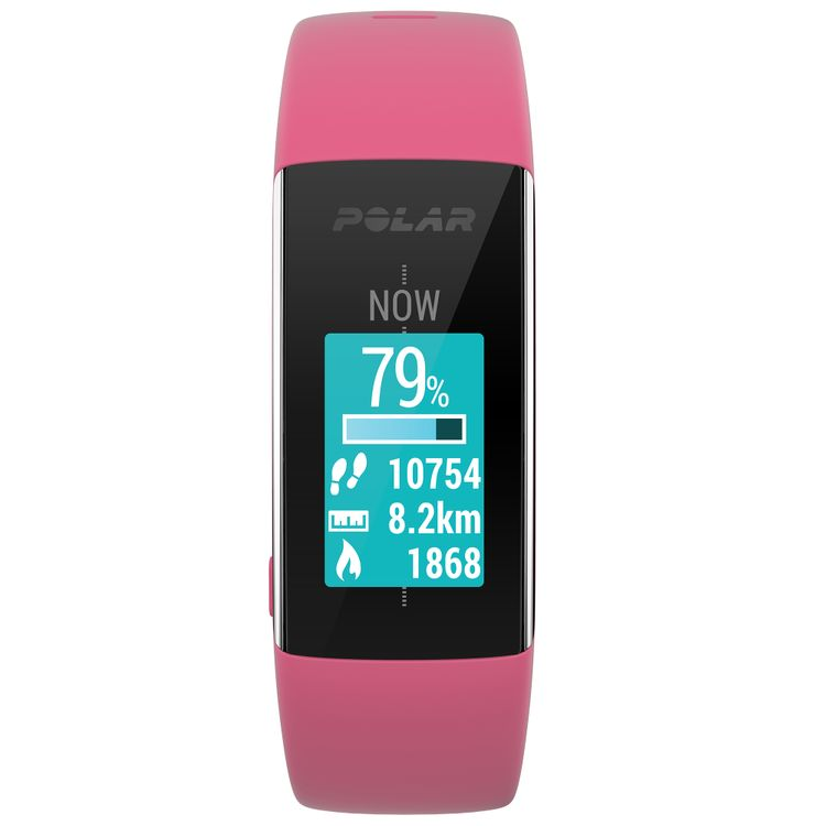 Polar A360 Activity Tracker And Fitness Watch Pink Size Small