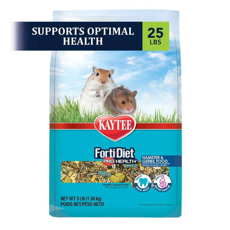 Kaytee Forti-Diet Pro Health Hamster and Gerbil Food 25lb