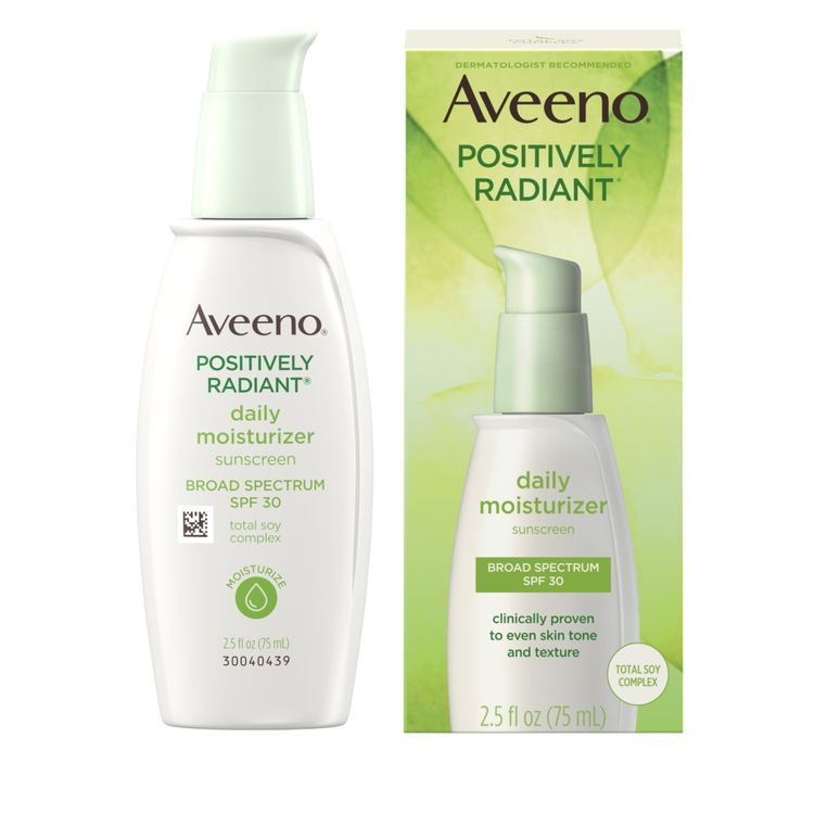 AVEENO® POSITIVELY RADIANT® Daily Face Moisturizer With SPF 30