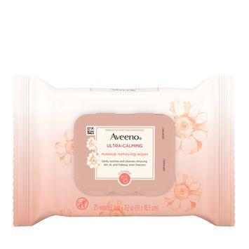 AVEENO® ULTRA-CALMING® Makeup Removing Wipes For Sensitive Skin