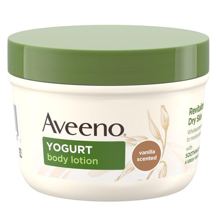 AVEENO® Daily Moisturizing Body Yogurt Moisturizer, Vanilla Scented and Oats
