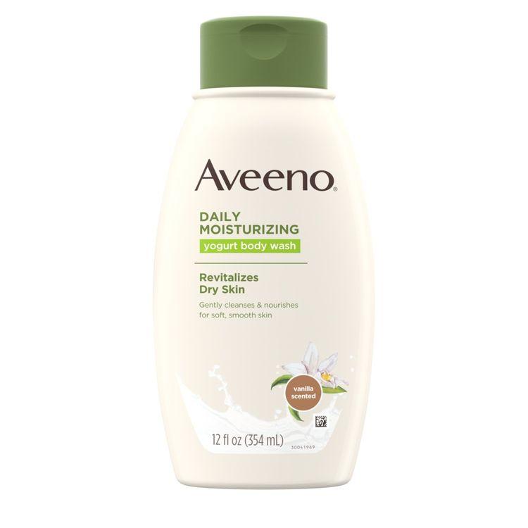 AVEENO® Daily Moisturizing Yogurt Body Wash, with Vanilla Scent and Oats