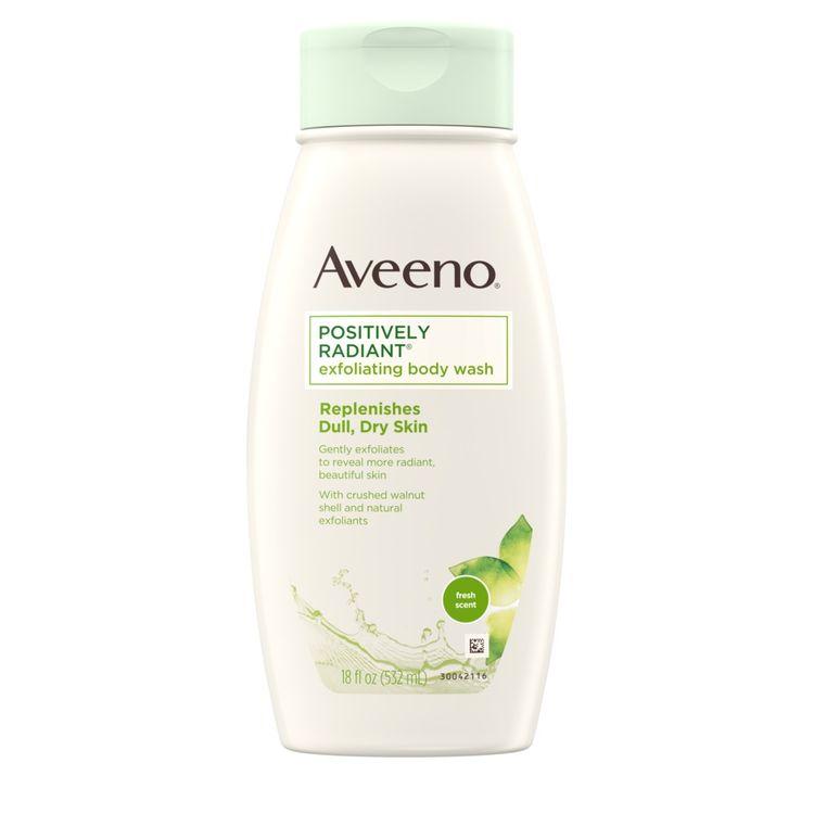 AVEENO® Positively Radiant® Exfoliating Body Wash