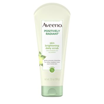 AVEENO® POSITIVELY RADIANT® Skin Brightening Daily Face Scrub