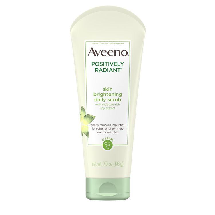 AVEENO® POSITIVELY RADIANT® Skin Brightening Daily Face Scrub
