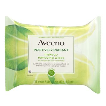 AVEENO® POSITIVELY RADIANT® Makeup Removing Face Wipes
