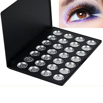 CYCTECH 10/28 Piece Pans Empty Eye Shadow Storage Eyeshadow Firm Palette Case Makeup Tool