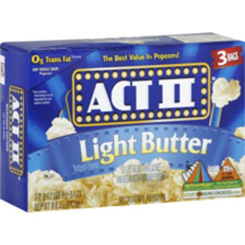 Act II Light Butter Popcorn