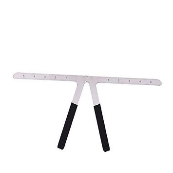 FTXJ 1PC Microblading Makeup Permanent Eyebrow Three-Point Positioning Ruler