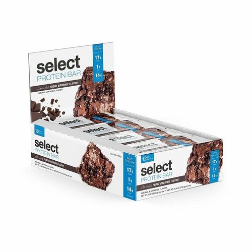 PEScience Select Protein Bar, Chocolate Fudge, Case of 12 Bars [Chocolate Fudge Brownie]
