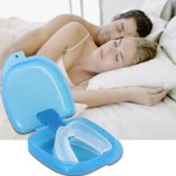 Silent Sleep Teeth Mouth Guard - Stop Teeth Grinding and Clenching - Best Teeth Grinding Solution on the Market 100% Satisfaction Guaranteed!