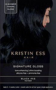 Kristin Ess Black Iris - true black