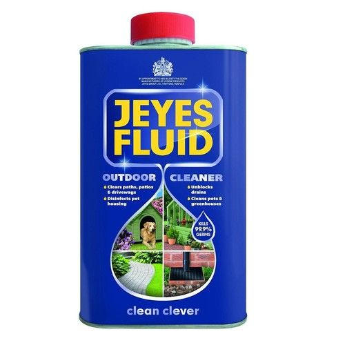 Jeyes Professional Fluid Disinfectant Deodoriser Cleaner 1 Litre Bottle