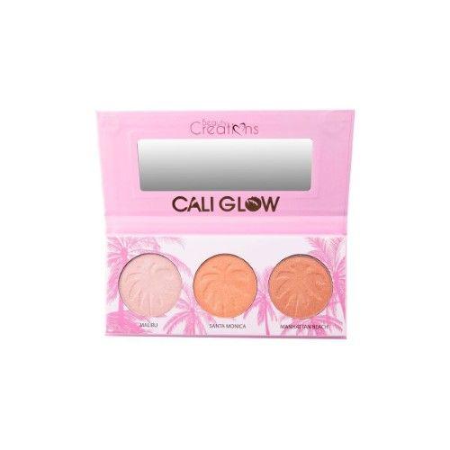Wholesale Makeup Beauty Creations Cali Glow Display 6pcs (hb3)