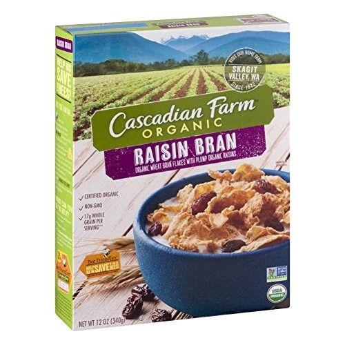 Cascadian Farm Organic Raisin Bran Cereal, 12.0 oz