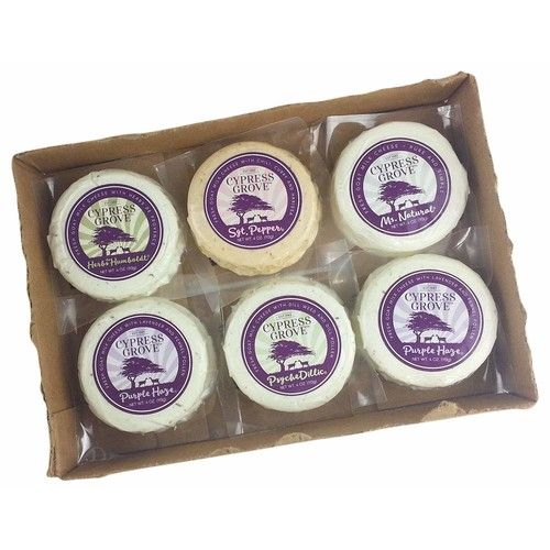 Cypress Grove, Assorted Fresh Chevre Cheese, 6x4 oz.