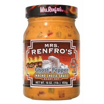 Mrs. Renfro's Nacho Cheese Sauce with Ghost Pepper
