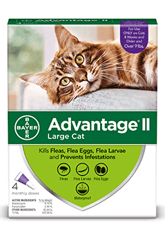 Bayer Animal Advantage® II for Cats