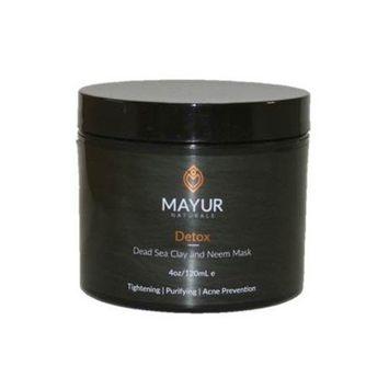 Mayur Naturals Detox Dead Sea Clay And Neem Mask